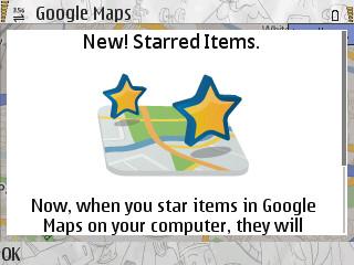 screenshot0010 - Google Maps - Nova atualização v3.3